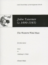 Petti Anthony G - The Western Wind Mass - Choral
