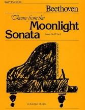 Theme From The Moonlight Sonata - Piano Solo