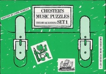 Chester S Music Puzzles Set 1 - Bk. 1 - Piano Solo