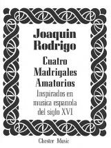 Joaquin Rodrigo - Cuatro Madrigales Amatorios - Medium Voice