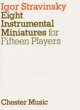 Eight Instrumental Miniatures For Fifteen Players - Orchestra