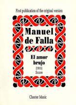 Falla Manuel (de) - El Amor Brujo - Score