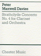 Strathclyde Concerto No.4 For Clarinet And Orchestra - Miniature Score