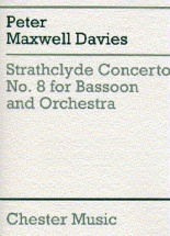 Davies Peter Maxwell - Strathclyde Concerto No.8 - Bassoon And Orchestra