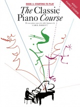 The Classic Piano Course Book 1 Starting To Play - V. 1 - Piano Solo
