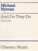 Nyman Michael - And Do They Do - Score - Orchestra