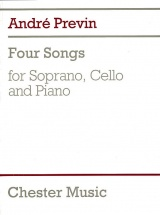 Four Songs For Soprano, Cello And Piano - Cello