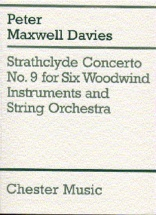 Davies Peter Maxwell - Strathclyde Concerto No.9 For Six Woodwind Instruments And String Orchestra -