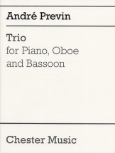 Previn Andre - Trio For Piano, Oboe And Bassoon