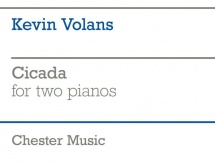 Kevin Volans Cicada For Two Pianos