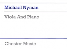 Nyman Michael - Viola And Piano