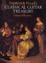 Classical Guitar Treasury - Duets And Ensembles - Classical Guitar