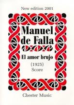 El Amor Brujo New Edition 2001 - Score - Orchestra