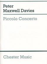 Piccolo Concerto - Miniature Score - Orchestra