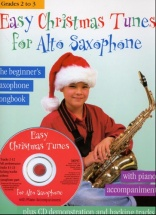 Easy Christmas Tunes For + Cd - Alto Saxophone