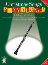 Applause Christmas Songs Playalong For + Cd - Clarinet