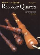 Pitts John - Recorder Quartets - Playing Score - Wind Ensemble