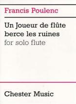 Poulenc F. Un Joueur De Flute Berce Les Ruines Solo Flute