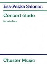 Salonen E.-p. - Concert Etude For Solo Horn In F