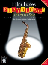 Applause Film Tunes Playalong For + Cd - Alto Saxophone