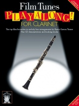 Applause Film Tunes Playalong For + Cd - Clarinet