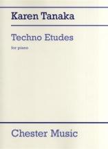 Karn Tanaka Techno Etudes - Piano Solo