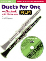 Film Duets For One + Cd - Clarinet