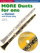 Cox Heather - More Duets For One - Clarinet