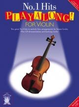 Applause No.1 Hits Playalong For Violin + Cd - Violin