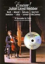 Webber Julian Lloyd - Encore! - 12 Favourites For Cello - Cello