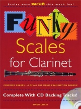 Lesley Simon - Funky Scales For Clarinet - Grades 1-3 - Clarinet