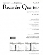John Pitts - Recorder From The Beginning Recorder Quartets - Wind Ensemble