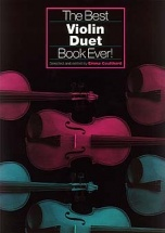 Coulthard Emma - The Best Violin Duet Book Ever! - Violin