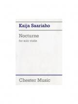 Saariaho Kaija - Nocturne - Violon Solo