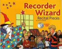 Recorder Wizard Recital Pieces Pupil's Book + Cd - Recorder