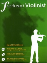 The Featured Violinist + Cd - Violin