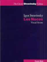 Stravinsky - Les Noces - Vocal Score - Satb