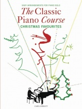 Barratt Carol - The Classic Piano Course - Christmas Favourites - Piano Solo