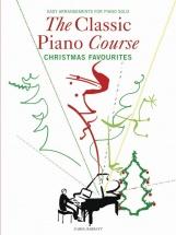 Barratt Carol - The Classic Piano Course - Christmas Favourites - Piano Solo