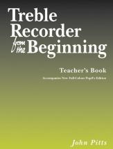 Pitts John - Treble Recorder From The Beginning Teacher