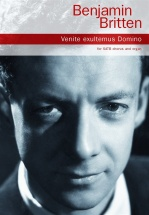 Benjamin Britten Venite Exultemus Domino - Satb