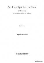 Dessner Bryce - St. Carolyn By The Sea - Full Score