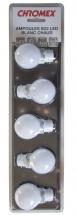 Chromex Pack 5 Ampoules Blanc Chaud