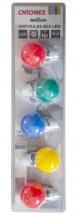 Chromex Pack 5 Ampoules Couleur