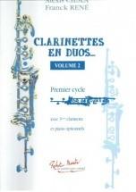 Ciesla A., Rene F. - Clarinettes En Duos Vol.2