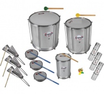 Contemporanea Cl-pack01 - Pack Samba Light - 13 Instruments