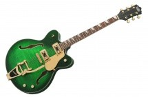 Eastwood Classic 6 Deluxe - Greenburst En Etui