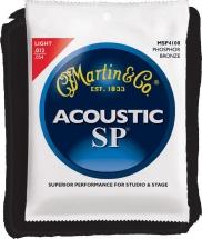 Martin Sp+ 4100 Light 12-54  Studio Performance Phosphore Bronze 92/8