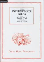 Crum A. - Intermediate Solos For Treble Viol