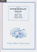 Crum A. - Intermediate Solos For Bass Viol